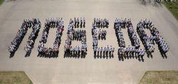Городской песенный флешмоб, посвящённый 74-й годовщине Победы в ВОВ