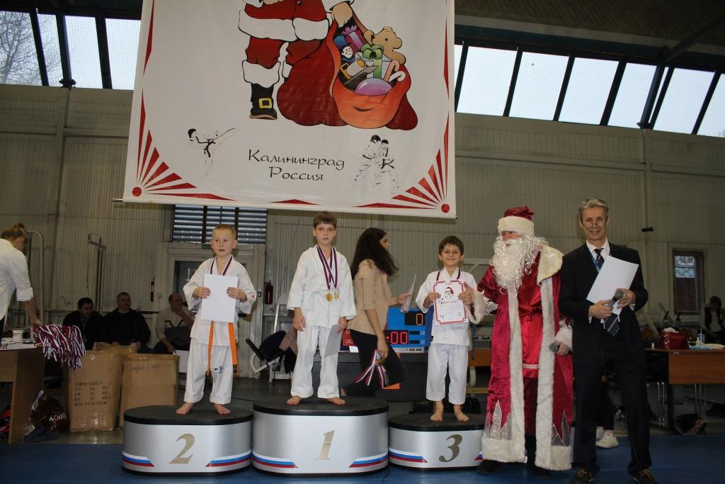 Учащиеся гимназии №32 успешно выступили в соревнованиях ХХIII детско-юношеском турнире по каратэ «Кубке Деда Мороза 2016»