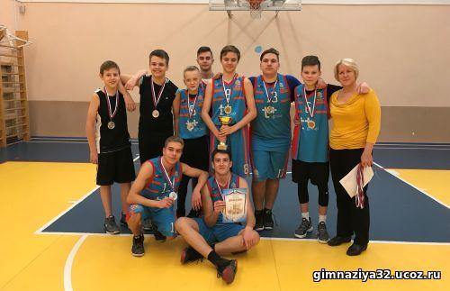Баскетболисты гимназии