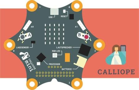 Coden mit dem Calliope mini