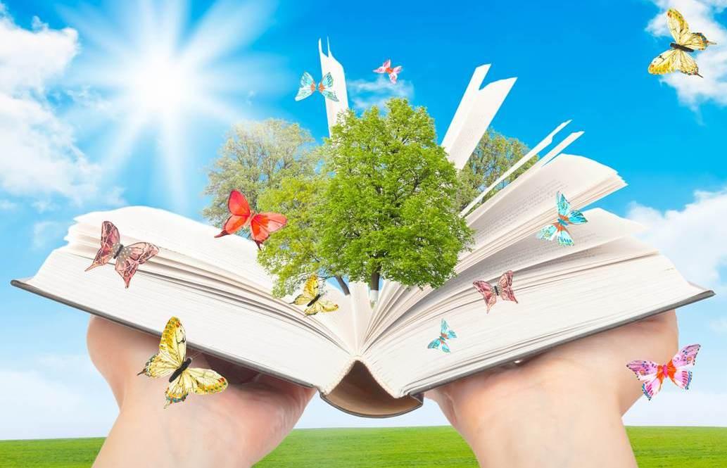 В период летних каникул школьная библиотека работает с понедельника по пятницу