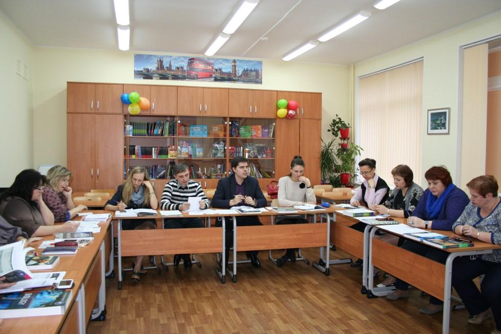 Заседание педагогического состава МАОУ гимназии №32 по вопросу внедрения IB (Международного Бакалавриата).