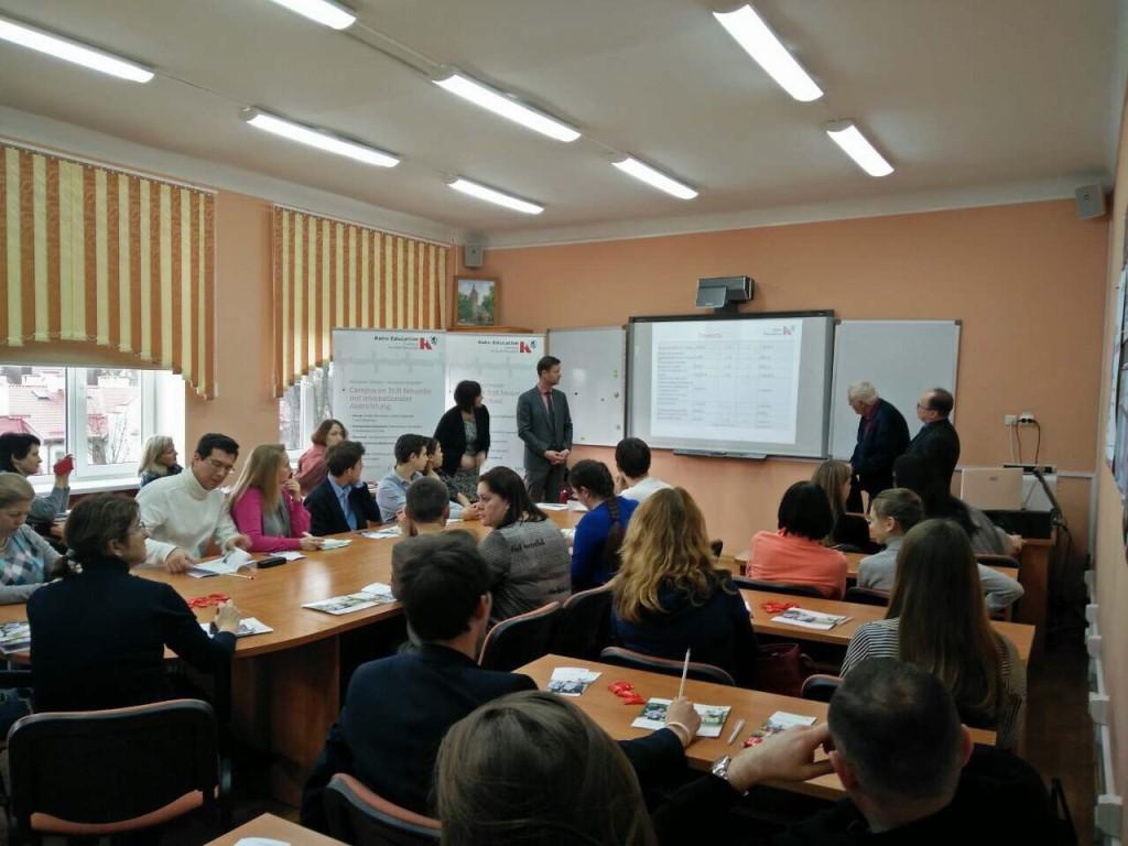 Встреча с представителями гимназии г. Нойцелле
