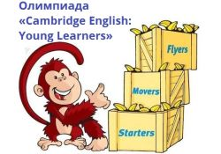 Финал олимпиады Cambridge Young Learners