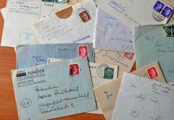 Выставка писем на немецком языке